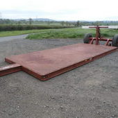 Mekanag low load trailer