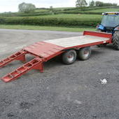 MCM low load trailer