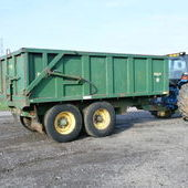 Bailey 11 ton trailer