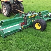 2010 Major 18000GR Trailed Batwing Mower 5. 4 meter/ 18 feet cut ...