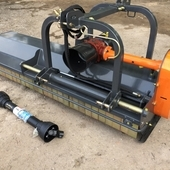 New B220 Heavy Duty Front/ Rear Flail Mower, Hydraulic side shift...